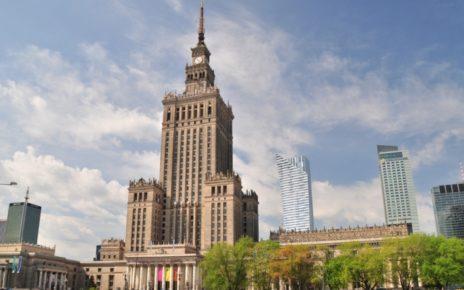 Warszawa, Plac Defilad oraz Pałac Kultury i Nauki