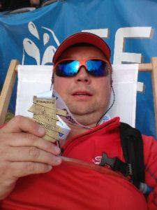 Maraton Karkonoski - z medalem