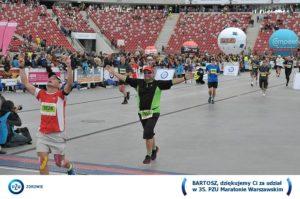 Maraton Warszawski 2013 - finisz