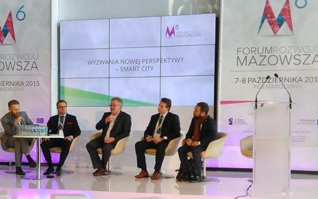 6. Forum Rozwoju Mazowsza - debat o smart city