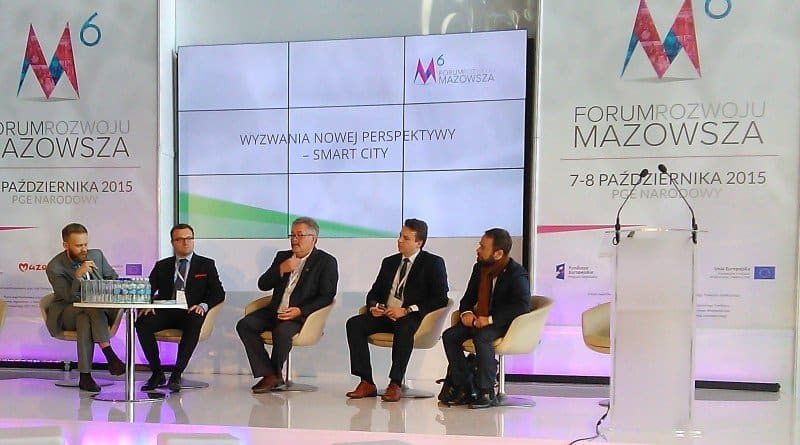 6. Forum Rozwoju Mazowsza - debat o smart city