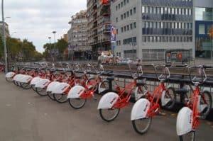 System rowerów miejskich Bicing w Barcelonie