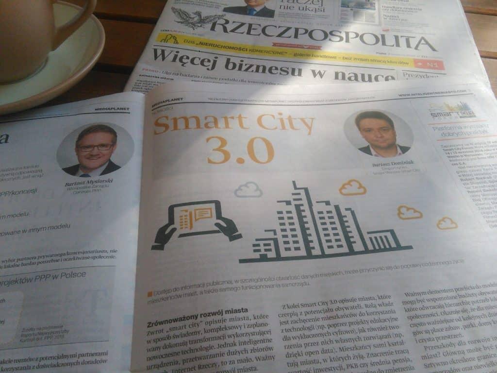 Inteligentne Miasto - dodatek do Rzeczpospolitej
