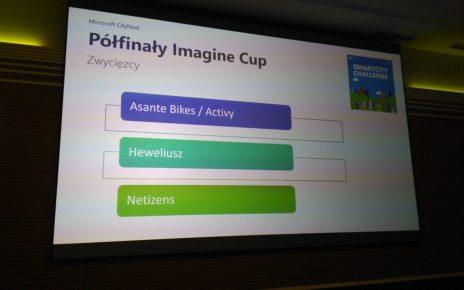Imagine Cup - Smart City - półfinały