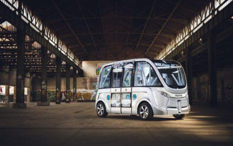Bezzałogowy autobus miejski w Wiedniu, Copyright ©Pierre Salomé - Aishuu