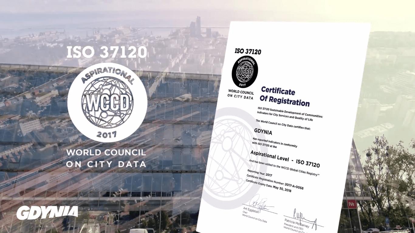 Gdynia z certyfikatem ISO 37120