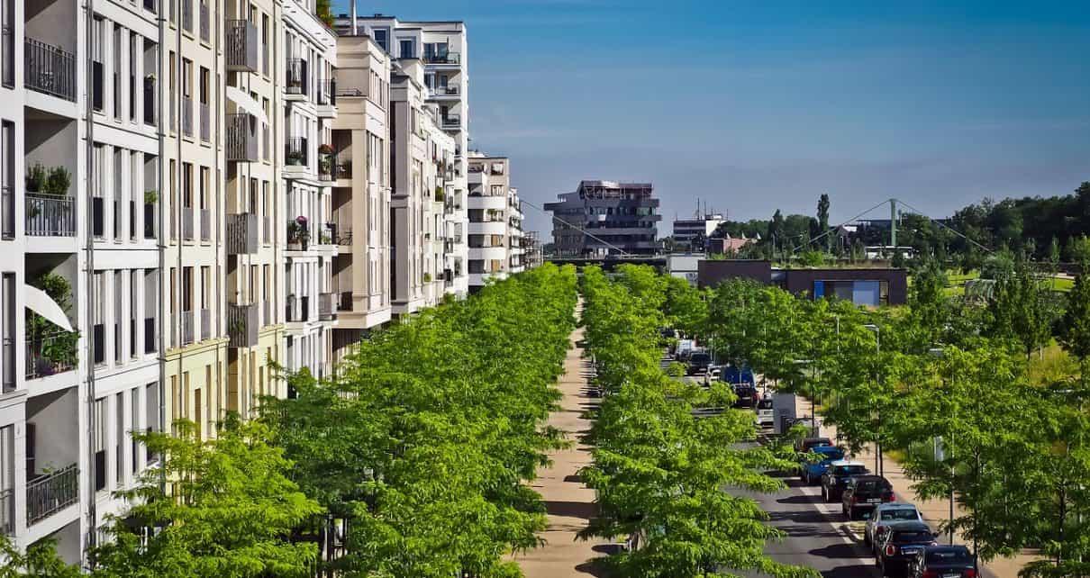 miasto ekologiczne, zieleń