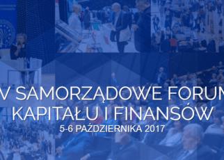 Samorządowe Forum Kapitału i Finansów w Katowicach