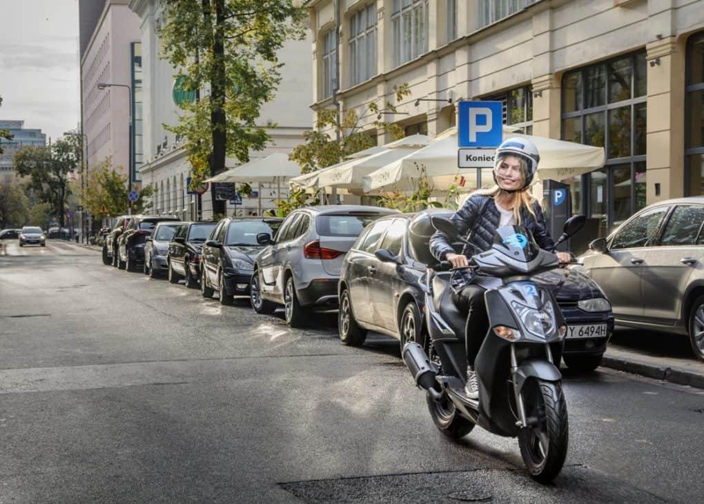 Scroot - system skuterów miejskich