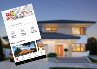Aplikacja Extradom projekty domów