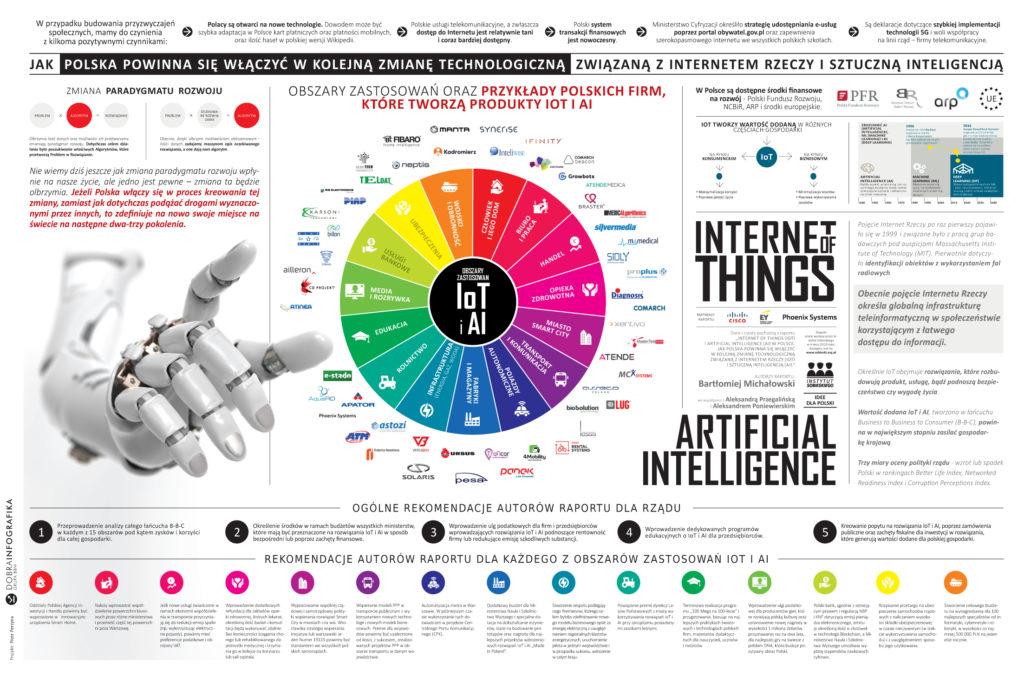 Internet of Things (IoT) i Artificial Intelligence (AI) w Polsce. Jak wykorzystać rewolucję technologiczną Internetu Rzeczy i Sztucznej Inteligencji w rozwoju Polski