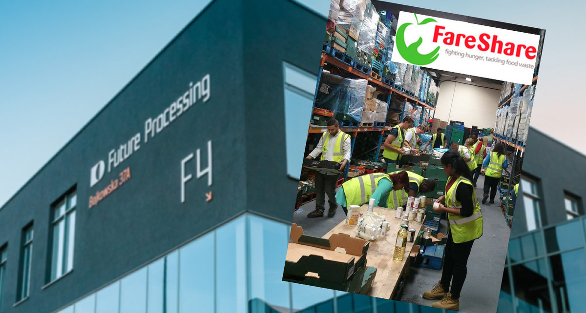 Future Processing, FareShare, foodsharing