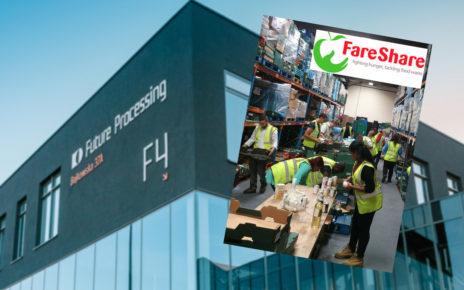 Future Processing, FareShare, foodsharing