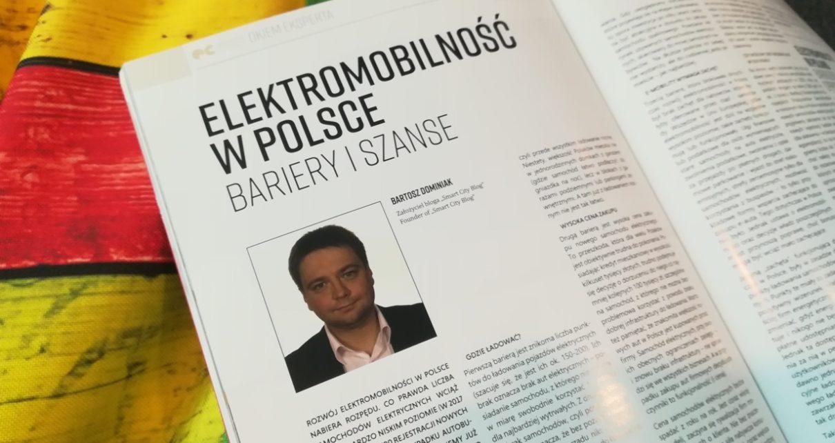Elektromobilność w Polsce. Bariery i szanse