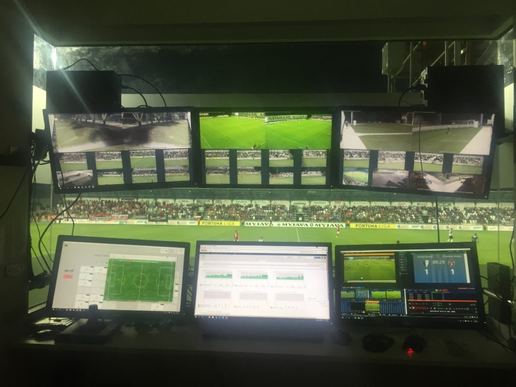 Monitoring wizyjny na stadionie, Axis Communications