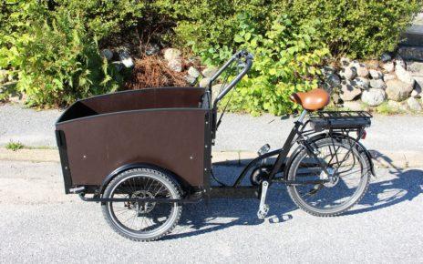 Rower cargo elektryczny