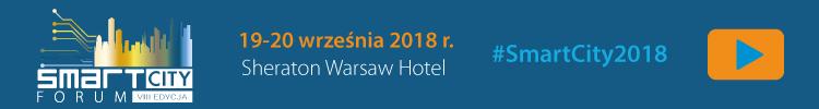 Smart City Forum, Warszawa, 19.-20.09.2018